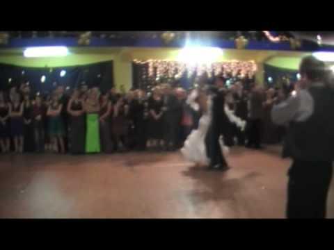 Pokaz tańca w wykonaniu Dominiki Jabłońskiej i Michała Zacharewicza