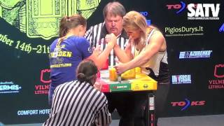World Championships 2014 - Heidi Andersson´s Right Handed Matches