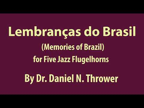 A five-part jazz flugelhorn piece, all the parts played by Dr. Thrower