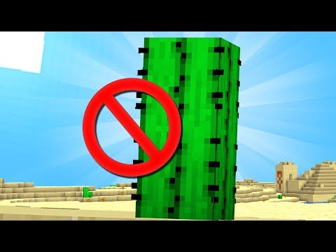 Why CACTUS is the WORST MINECRAFT BLOCK.