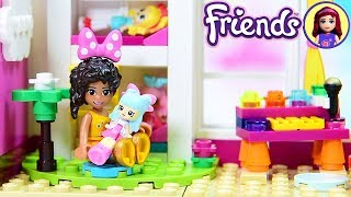 Little Andreas Toddler Bedroom With Dollhouse - Lego Friends Girls Bedroom Custom Build DIY