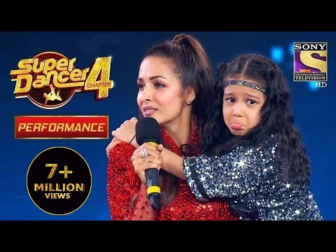 Florina को कीया Malaika ने Adopt    Super Dancer 4   सुपर डांसर 4