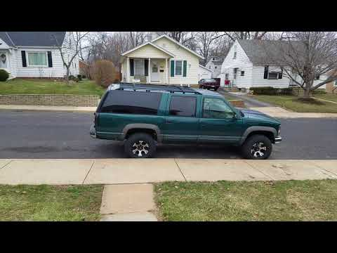 New wheels and tires 95 suburban