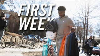 First Week at College: Clemson University