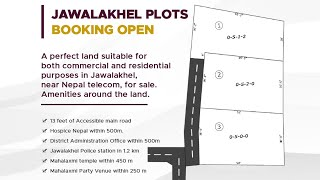 BOOKING OPEN FOR JAWALAKHEL PLOTS