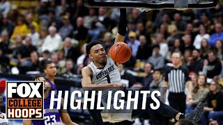 Tyler Bey leads No. 23 Colorado past Washington, 76-62   FOX COLLEGE HOOPS HIGHLIGHTS