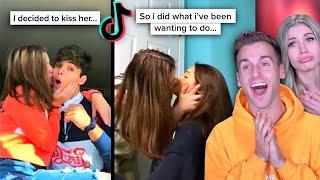 TODAY I TRIED TO KISS MY BEST FRIEND.. (Tik Tok)