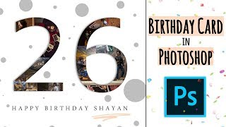 How to create a Birthday Card in Photoshop