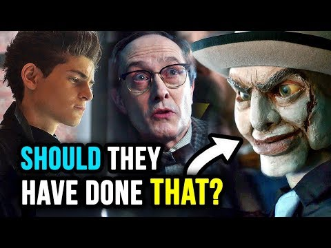 THAT Was GREAT But Bittersweet...WHY? - Gotham 5x08 Review