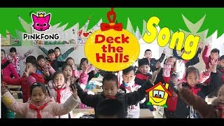 Deck the Halls | Christmas Carols | by PINKFONG Songs for Children - Mike's Home