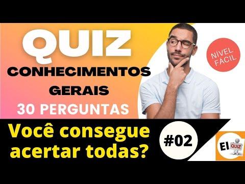 DESAFIO QUIZ DE CONHECIMENTOS GERAIS   NVEL FCIL #02