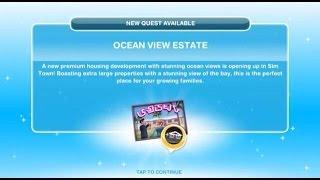 [The Sims Freeplay] - Ocean View Estate Görevi