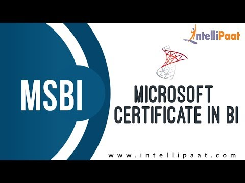 Microsoft Certification in BI | MSBI Tutorial | Online MSBI Training ...