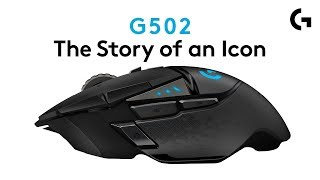 YouTube Video yfaufG7o9WQ for Product Logitech G502 LIGHTSPEED Wireless Gaming Mouse (910-005565) by Company Logitech in Industry Peripheral