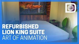 Refurbished Lion King Suite - Art Of Animation