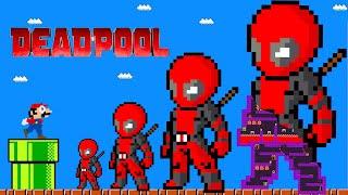 Game Box: Super Mario Vs Giant Deadpool New Maze!