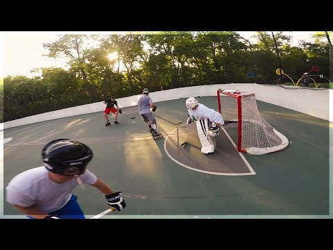 GoPro Hockey   CHILL SUMMER PICK-UP