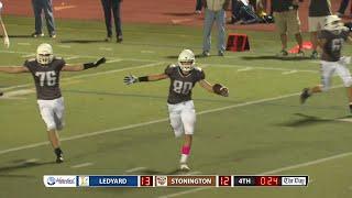 Highlights: Stonington 14, Ledyard 13