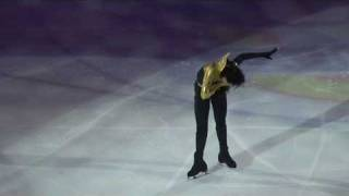 "Johnny Weir. Lady Gaga ""Bad Romance"".  Saint-Petersburg. ""Короли льда""."