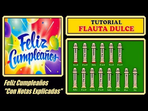 Download Feliz Cumpleaos No Flauta Dulce Con Notas 3gp Mp4 Codedwap