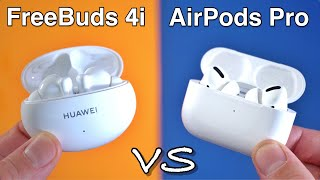 Huawei FreeBuds 4i VS Apple AirPods Pro - Which Ones are Better?