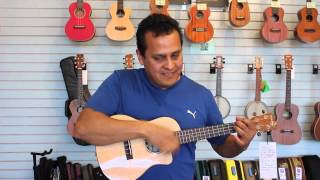 Sam Becerra Shows How to Strum Cuatro Style - Pacific Winds Music