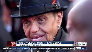 Joe Jackson dies in Las Vegas at age 89