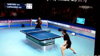 Final do Campeonato Mundial de Ping Pong 2014