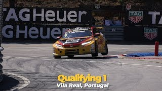 Red flagged quali Vila Real, bad result Tom Coronel after difficult session WTCR 2018Civic type-r