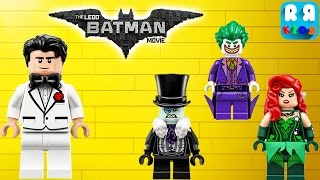The LEGO Batman Movie Game - Bruce Wayne Vs Poison Ivy, The Penguin and Joker Part 30