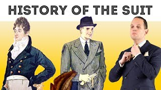 History of the Suit in 22 Minutes: The Evolution of Menswear from 1800 to Today