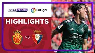 Mallorca 2-3 Osasuna Pekan 7