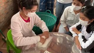 綿の手巻き
