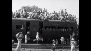 Lahore - Refugees from India (1947) - YouTube