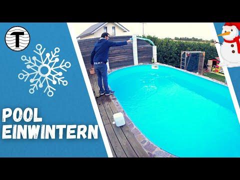 Pool winterfest machen Checkliste ☃️ ganz einfach 😊 Pool einwintern