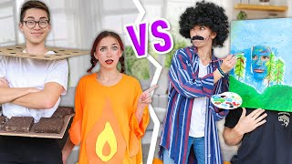 Couple VS Couple: DIY Halloween Costumes | Brooklyn & Brooks VS Bailey & Asa by Brooklyn and Bailey
