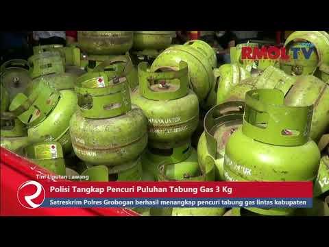 Polisi Tangkap Pencuri Puluhan Tabung Gas 3 Kg