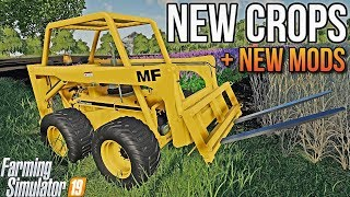 GAMECHANGER, R D C  FS19, NEW MOD MAP! NEW CROPS! Farming