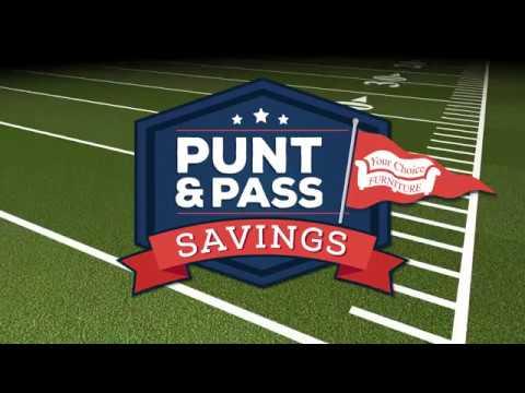 Punt and Pass Savings - TV