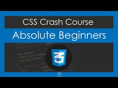 css tutorials crash course for beginners by traversy media