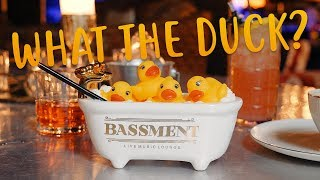 This Cocktail Comes in an Actual Bathtub… With a Rubber Ducky | Bassment's Bathtub Gin | Kholo.pk