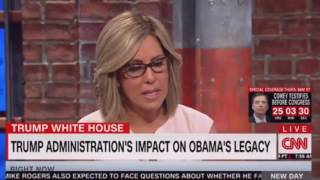 Valerie Jarrett on CNN New Day how President Trump affects the Obama legacy