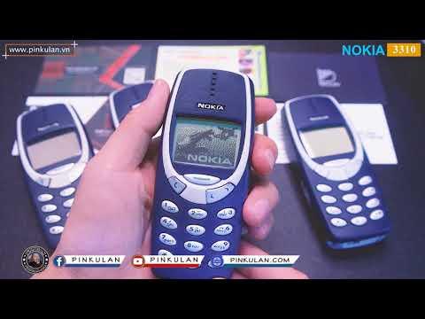 Điện Thoại Nokia 3310 Chính Hãng - Điện Thoại #pinkulan