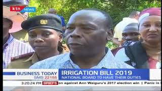 Irrigation Bill 2019: Roles to be clearly defined between the National board and the county governme