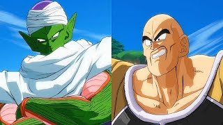 Dragon Ball FighterZ - Nappa Is Racist Towards Piccolo & Roast Gohan