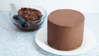 vanilla cake with chocolate ganache recipe