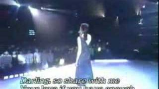 Eyes On Me sung by Faye Wong (live)