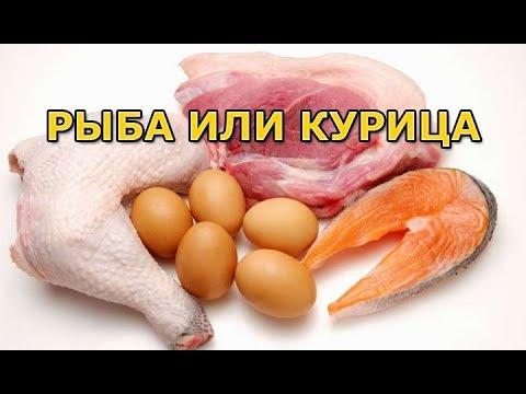 Что лучше для похудения - рыба или курица