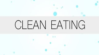Dr. Oz Explains How To Eat Clean
