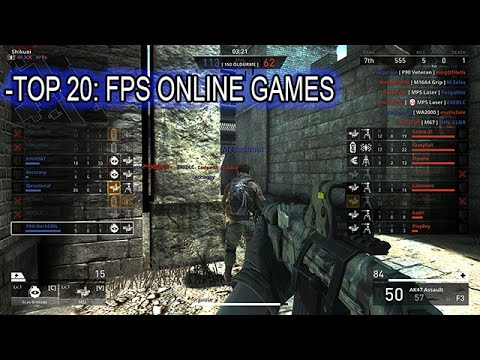 Top 20 Best Multiplayer First-Person Shooters Games PC